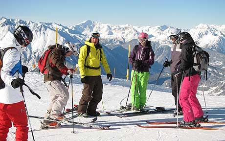 ski-with-the-group